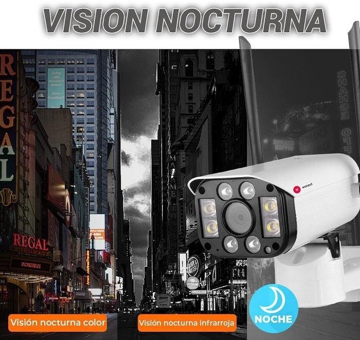 vision-nocturna-Camara-seguridad-exterior