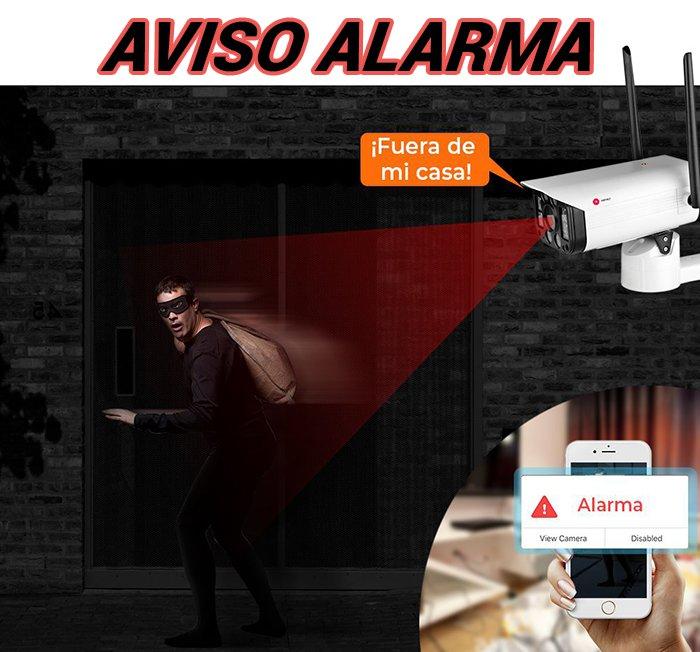alarma-Camara-seguridad-exterior