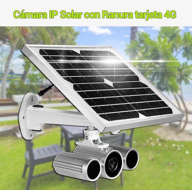 Camara ip solar 4g
