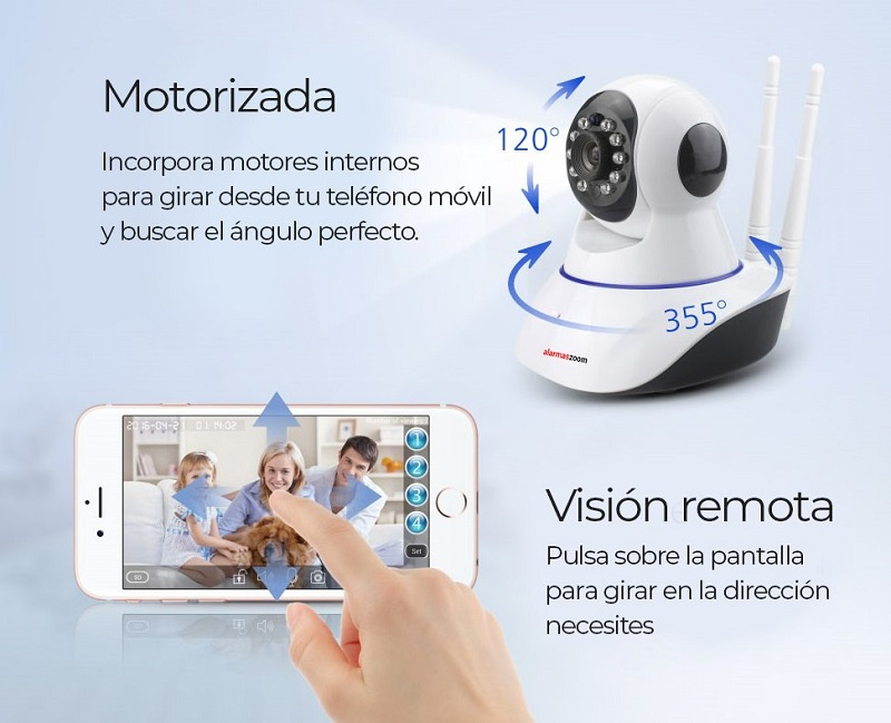 Camara-IP-WiFi-Motorizada