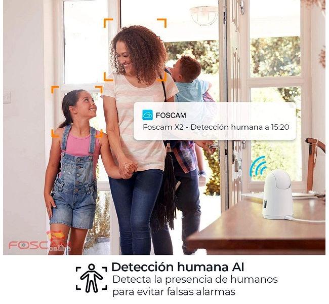 Foscam-X2-deteccion-AI