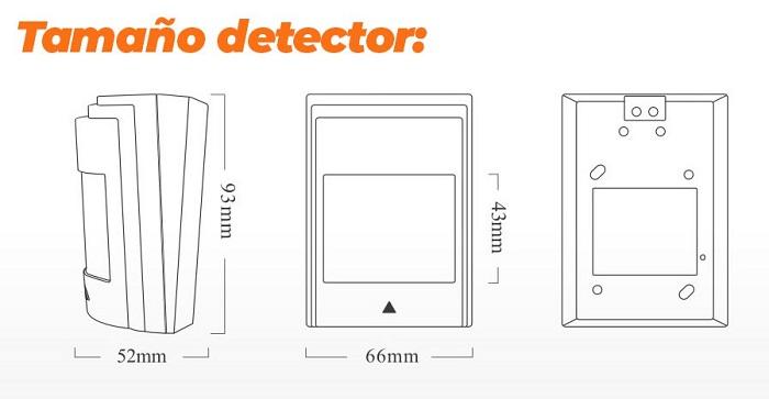 Detector-PIR-cable