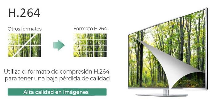 Grabador-CCTV-H264