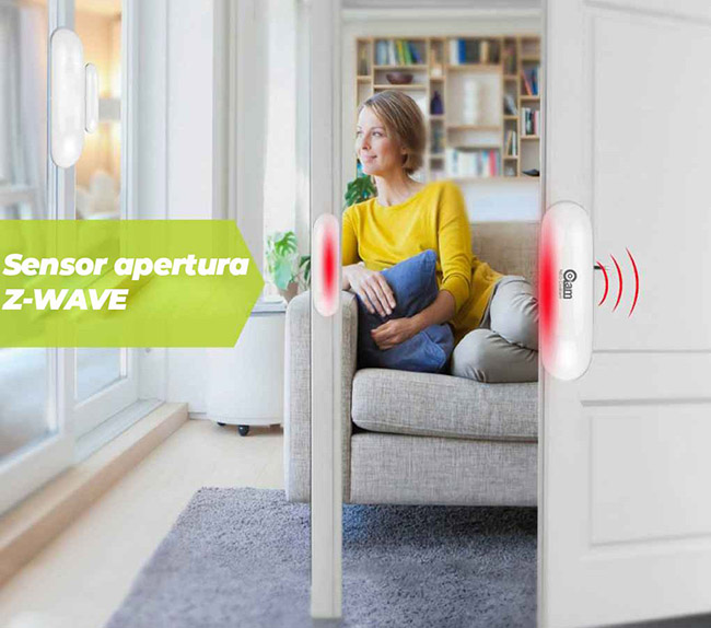 Sensor-Z-Wave-apertura
