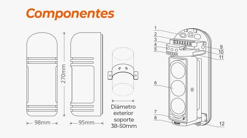 componentes-Sensor-barrera-cable