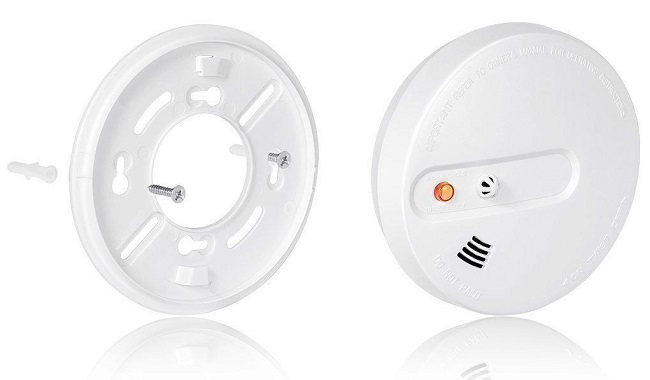 soporte-pared-Sensor-incendio-alarma