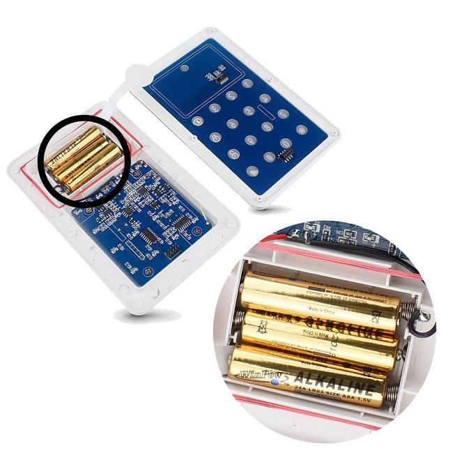 Batería-teclado-alarma