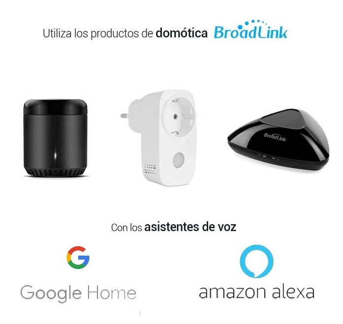 Google Home Amazon Alexa Broadlink