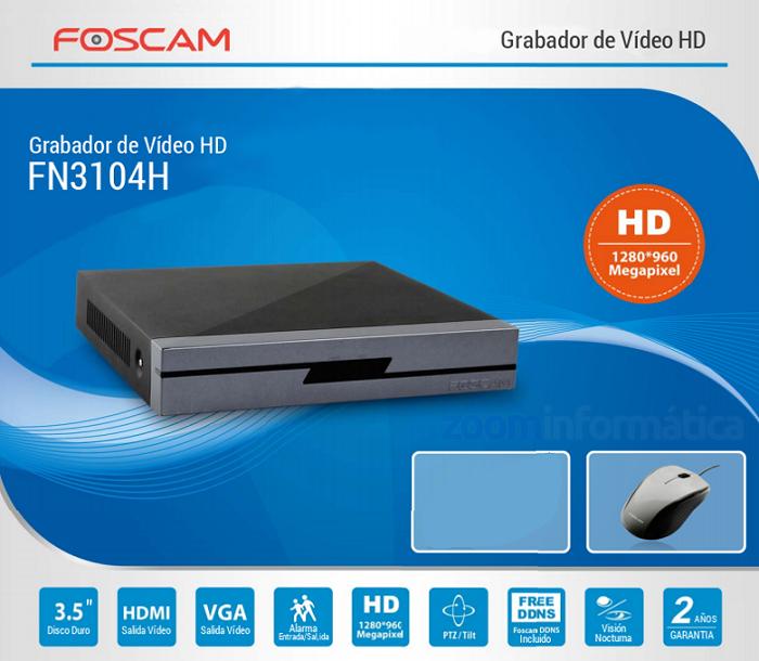 Foscam FN3104H y 2 FI9816P