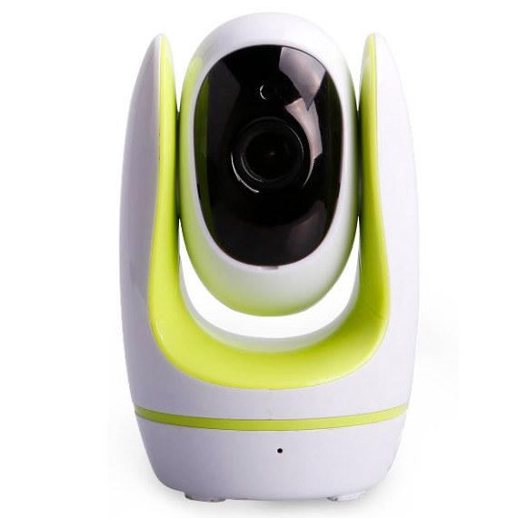 Camara IP WiFi Foscam Fosbaby Verde Vigilabebes Reacondicionada