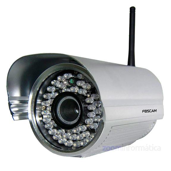 Cámara IP WiFi exterior Foscam