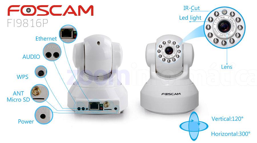 Foscam FI9816P W
