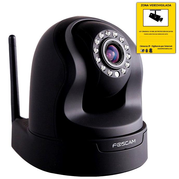 Comprar online Camaras IP Interior FOSCAM FI9826W B al mejor precio
