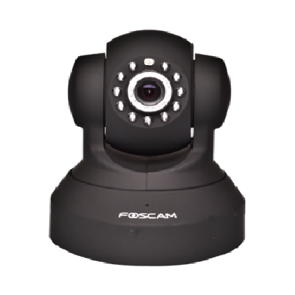 Foscam FI8918W B FI8918W B FOSCAM Camara Camera IP Wireless Wifi Color FOSCAM FI8918W BLK