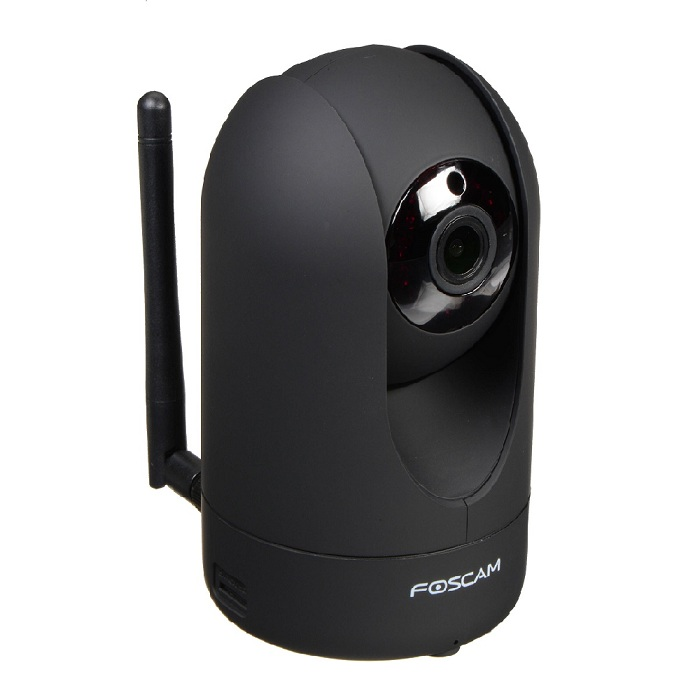 Foscam R2 B Camara IP Full HD interior motorizada Vision nocturna Color Negra