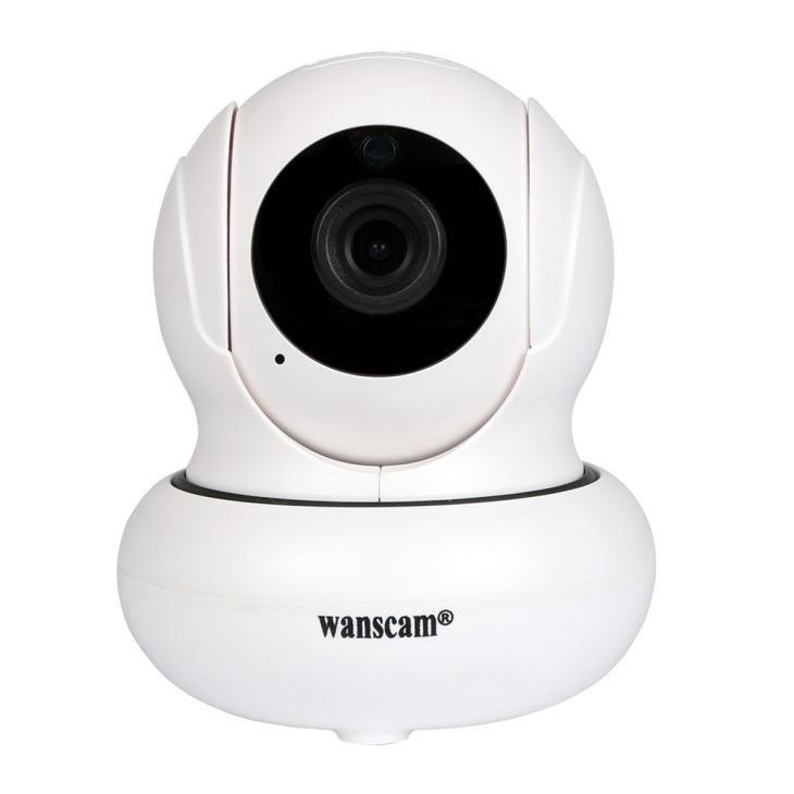 Wanscam HW0021 1 Camara IP WiFi mini interior HD 720P Motorizada con vision nocturna audio P2P