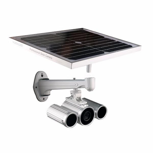 Wanscam HW0029 6 Camara IP exterior Placas solares 2 Baterias 1080p Tarjeta SIM 3G 4G