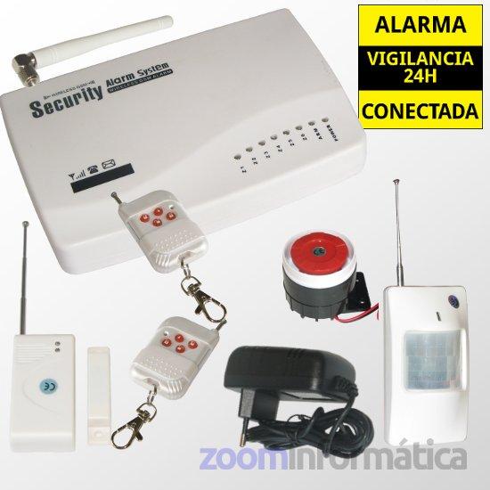 Comprar online Central alarma alarmas-zoom ALARMA GSM al mejor precio