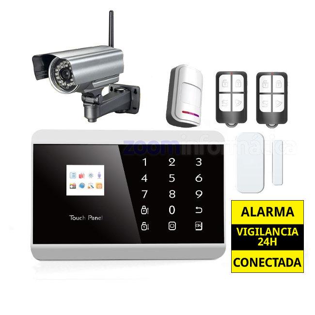 Alarma Hogar GSM Castellano sin cuotas Camara seguridad exterior Neo AZ013 3