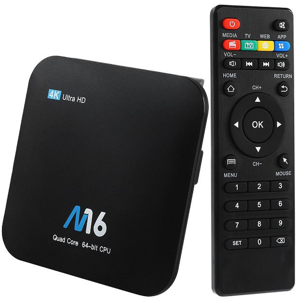 OTROS M16 16GB Decodificador TV M16 4K TV Box con Android 7.1 Amlogic S905X 2Gb16Gb<br /> <br />