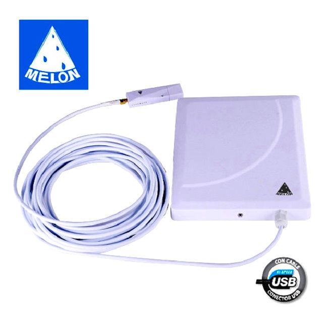 Melon N918 N918 MELON ADAPTADOR USB WIFI ANTENA EXTERIOR N918 36DBI REALTEK 8188RU MELON RTL818RU 36DB