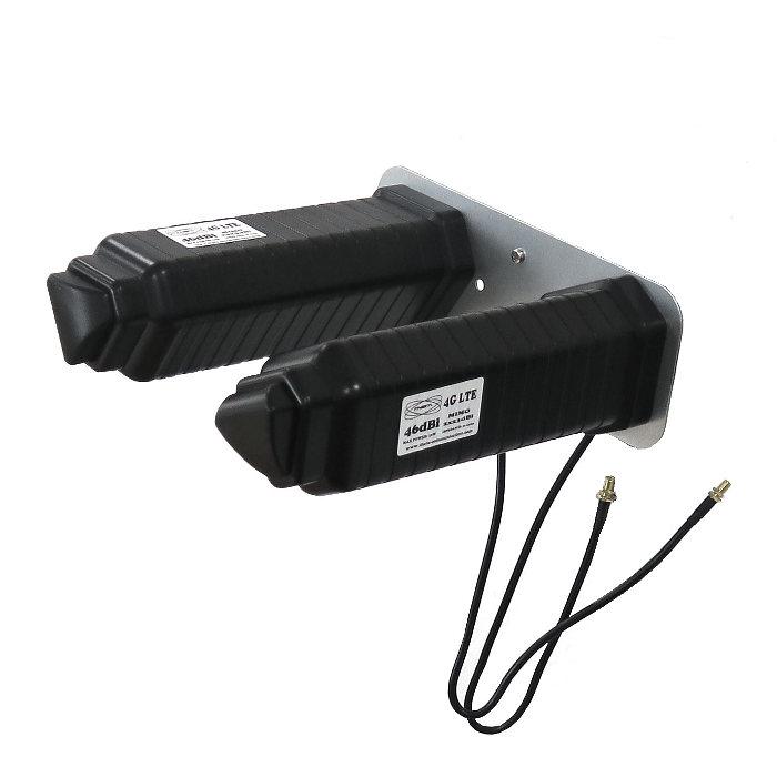 Antenas 4G Theta Yagi 4G 46dbi negra