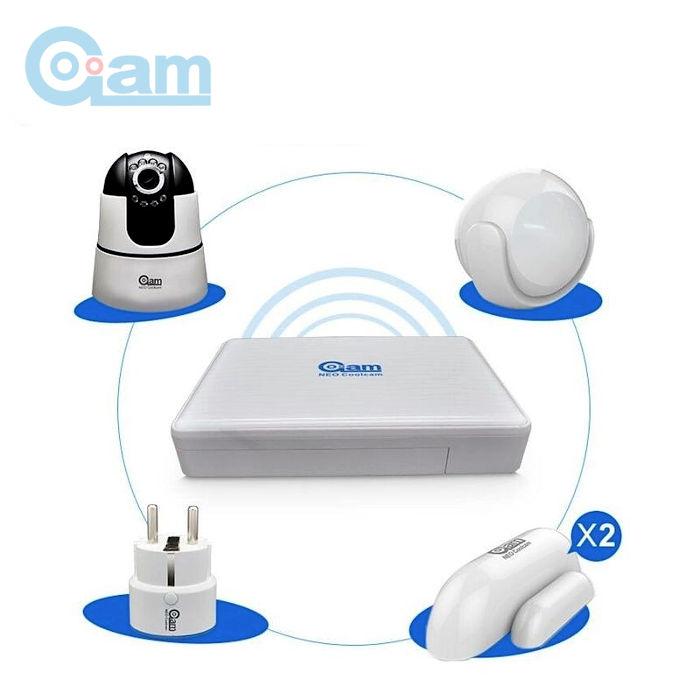 NEO COOLCAM STARTER KITS Neo CoolCam Kit de alarma WiFi y central NVR con funciones grabacion para camara