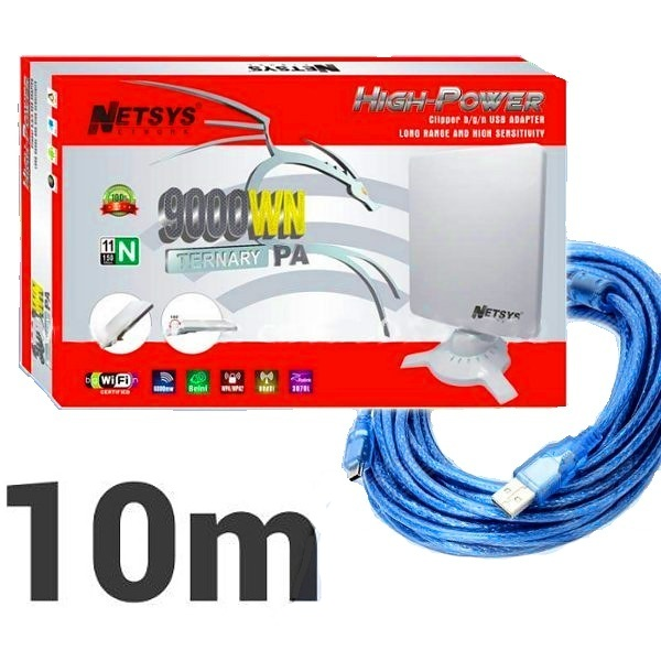 Adaptadores WIFI USB Netsys 9000WN 10M