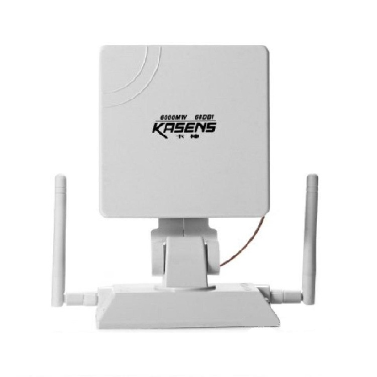 ANTENA ADAPTADOR WIFI USB KASENS KS1680 6000mW 68dBi WIRELESS INALAMBRICO
