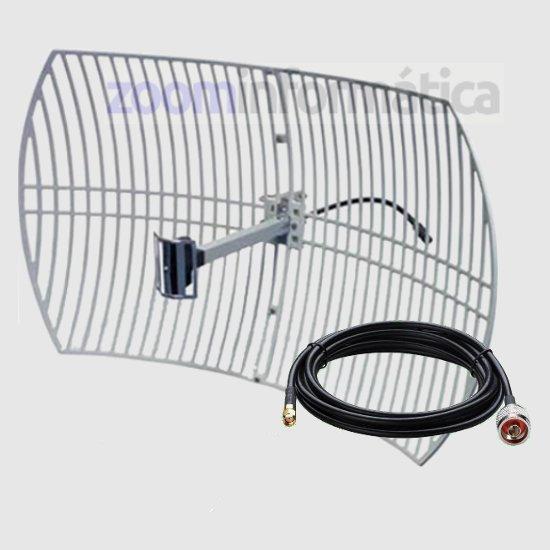 PARABOLICA 24DBI 10M WIFI antenas Parabolica