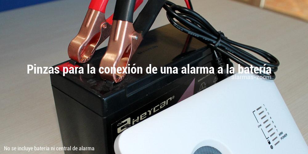 Alarmas-zoom Cable-bateria