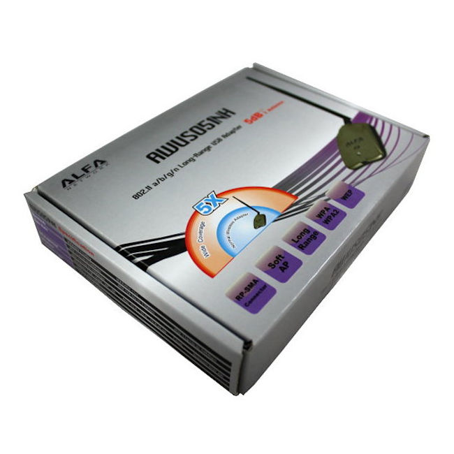 Comprar online Adaptadores WIFI USB ALFA NETWORK AWUS051NH al mejor precio