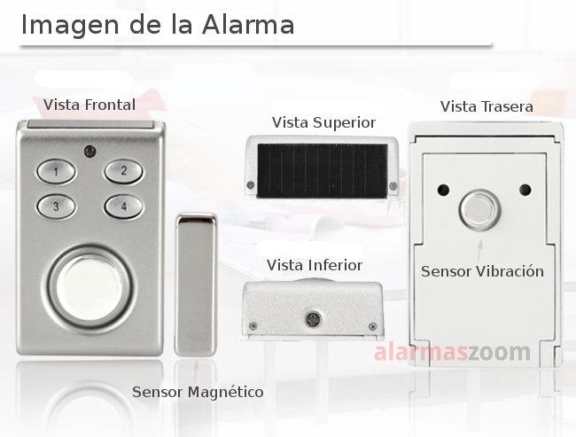 Alarmas-zoom SP65 W