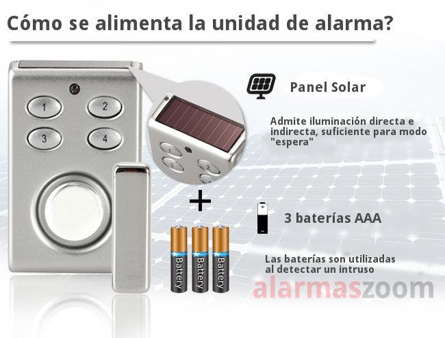 Alarma hogar sp65 b sistema de alarma para puertas for Sonido de alarma