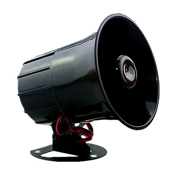 S103 S103 alarmas-zoom SIRENA CASA HOGAR PARA ALARMA DE 1 TONO 15W de 6V a 12V DC 110dB KIT SISTEMA