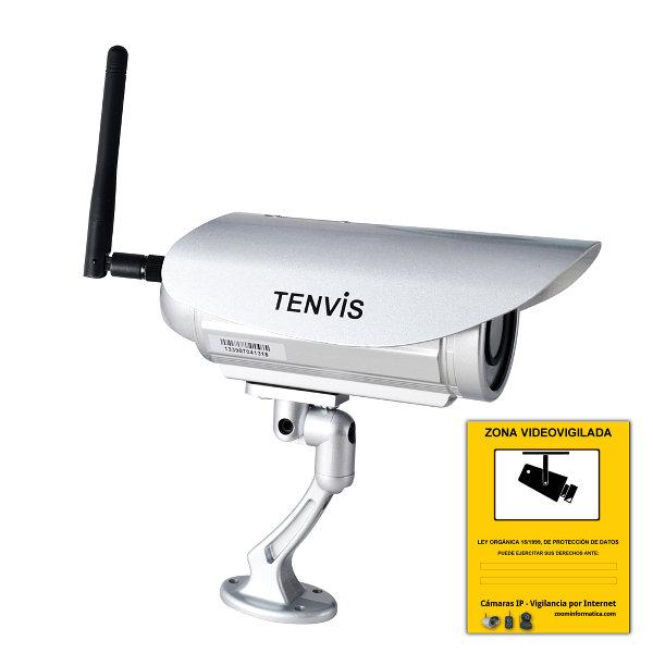 Tenvis IP391W Camara de seguridad WiFi IP exterior inalambrica