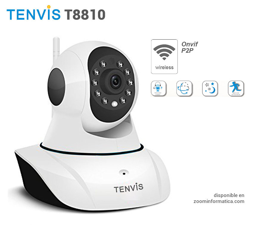 Tenvis T8810 con MR6400