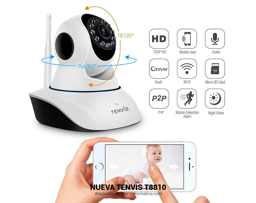 Tenvis T8810D con MR6400