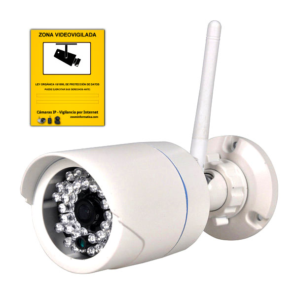 TENVIS TH692 R Tenvis TH692 HD H.264 IR Wifi RED CAMARA IP REACONDICIONADA CAM P2P ONVIF WIFI EXTERIOR