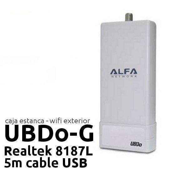 Punto de acceso Exterior CPE Alfa network UBDo-G
