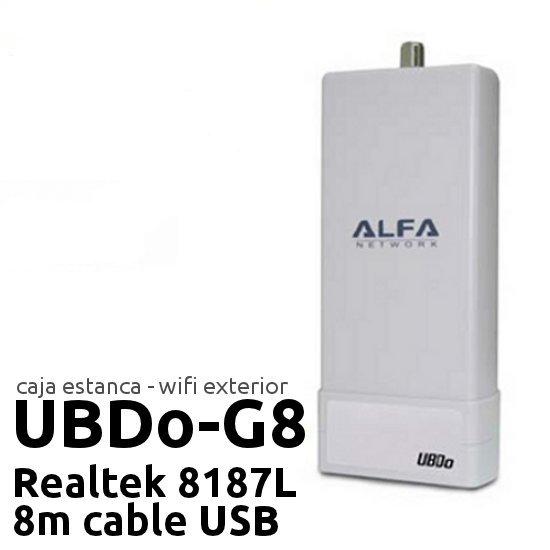 Comprar online Punto de acceso Exterior CPE ALFA NETWORK UBDO-G8 al mejor precio