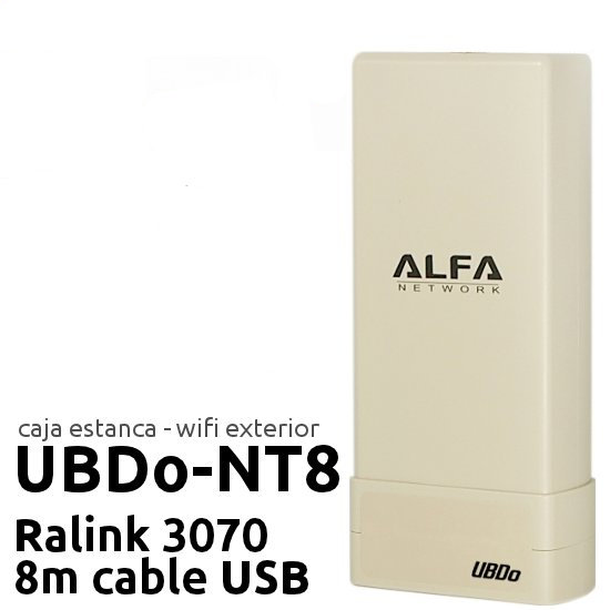 ALFA NETWORK UBDO-NT8 R Outlet Antenas WiFi Outlet