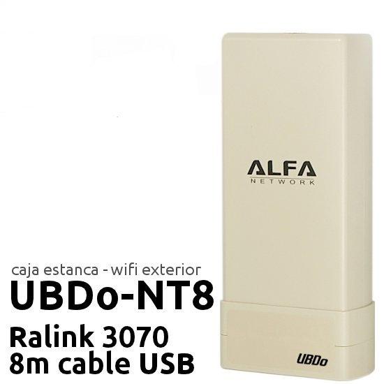 Comprar online Punto de acceso Exterior CPE ALFA NETWORK UBDO-NT8 al mejor precio