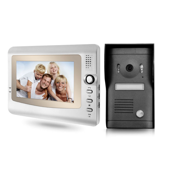 Videoportero cableado pantalla color TFT 7 pulgadas VD972C