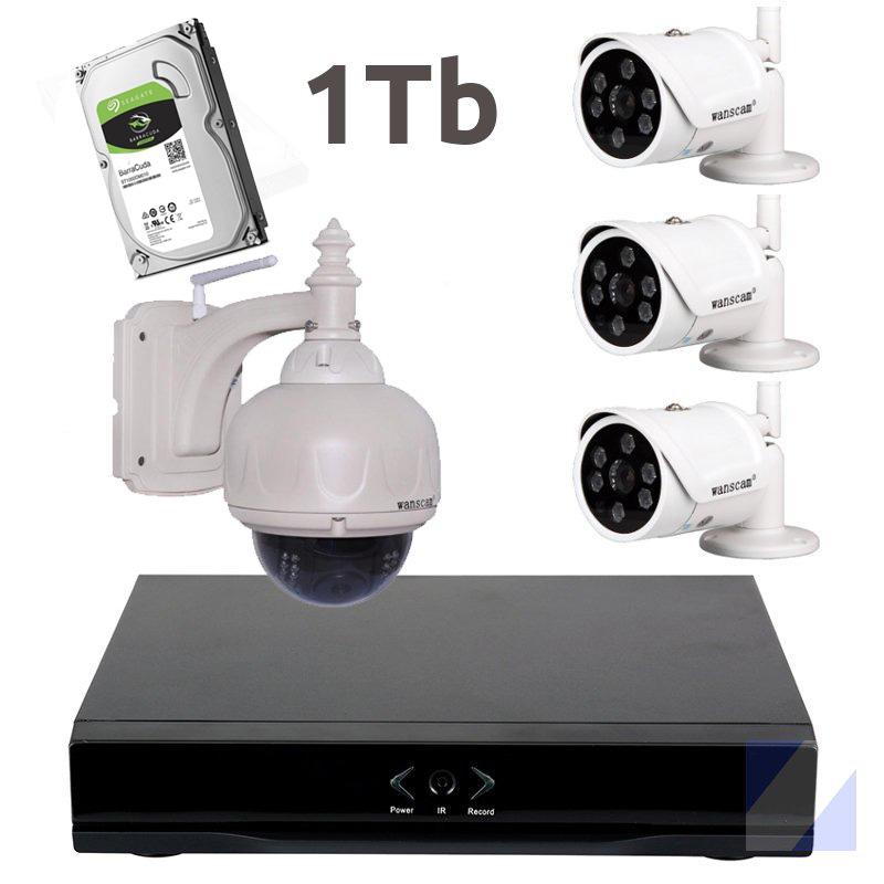 Grabador NVR Wanscam HL0162  3 HW0034  HW0038  1Tb
