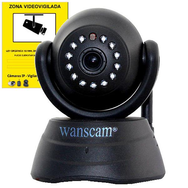 Wanscam JW0003 B JW0003 B WANSCAM IP CAMARA WIFI VIDEO VIGILANCIA WANSCAM WANS-CAM JW0003 NEGRO INTERIOR CAMERA