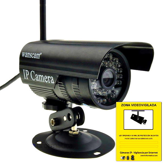 WANSCAM JW0011 IP CAMARA WIFI VIDEO VIGILANCIA WANSCAM EXTERIOR JW0011 MINI CAMERA