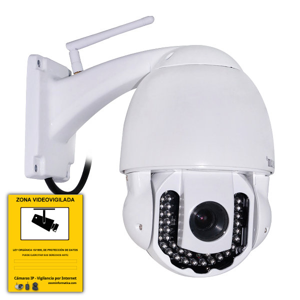WANSCAM HW0025 IP CAMARA WIFI VIDEO VIGILANCIA WANSCAM EXTERIOR MOTORIZADA CAMERA HW0025 3 ZOOM