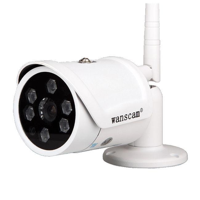 Wanscam HW0034-2 HW0034-2 WANSCAM WANSCAM CAMARA IP EXTERIOR HW0034 H.264 HD 720p VISION NOCTURNA ALTA RESOLUCION 6mm
