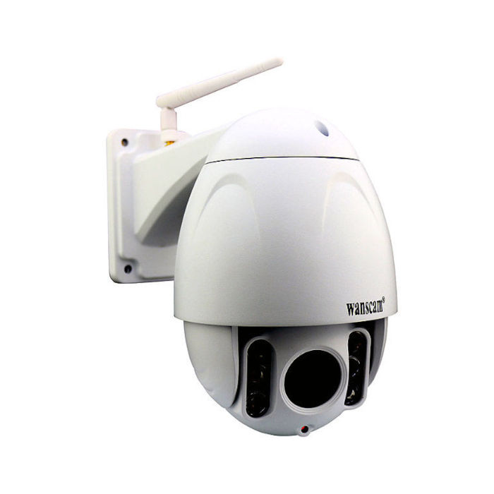 Wanscam HW0045 Camara de seguridad IP exterior motorizada Full HD memoria interna reacondicionada
